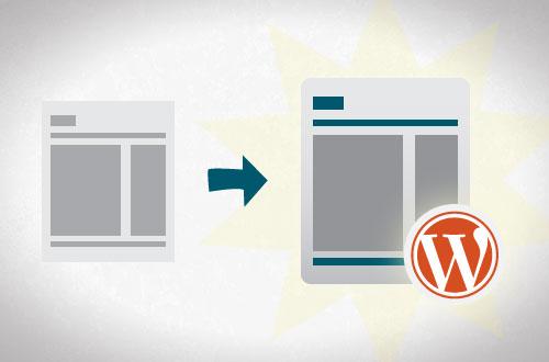 design to wordpress site image